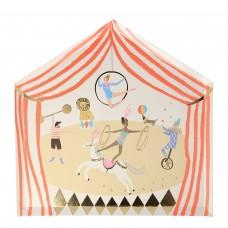 Cirkusz tányér (8db MeriMeri)