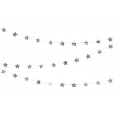 Csillagos Girland (ezüst)