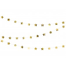 Csillagos Girland (arany)