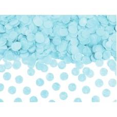 Világoskék asztali konfetti
