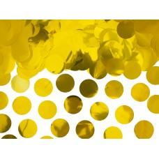 Arany kör asztali konfetti