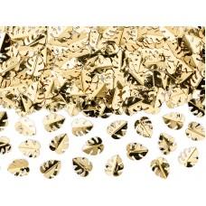 Arany pálmalevél asztali konfetti