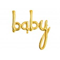 """""""baby"""" arany fólialufi"""