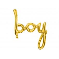"""""""boy"""" arany fólialufi"""