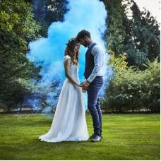 Kék füstbomba