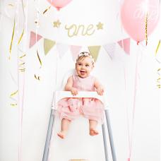 Első szülinapi Party-Box (rózsaszín)