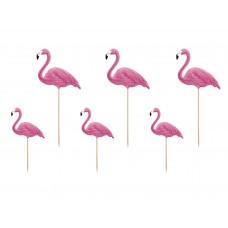 Flamingó torta/sütidísz