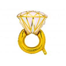 Gyémántgyűrű fólialufi