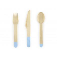 Fa evőeszköz (kék)