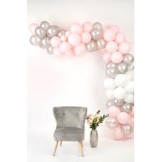 Rózsaszín-Ezüst-Fehér