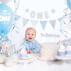 Első szülinapi Party-Box (kék)