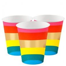 Szivárvány pohár (12db)