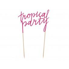 """""""Tropical Party"""" tortadísz"""